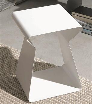 Bontempi Kito White Rectangular End Table BON0635M306