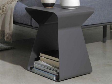 Bontempi Kito Anthracite Rectangular End Table BON0635M310
