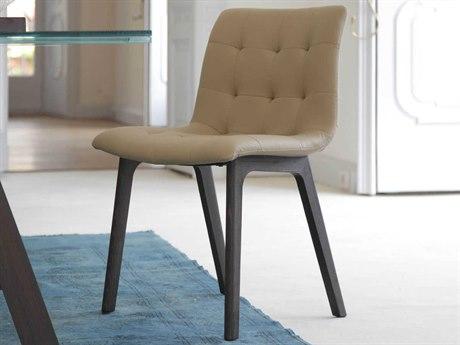 Bontempi Kuga Oak / Sand Side Dining Chair