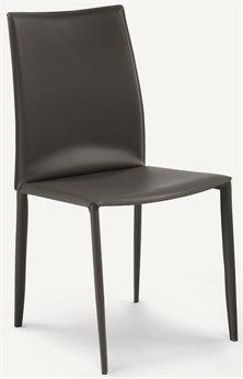 Bontempi Linda Anthracite Side Dining Chair BON0426Q410