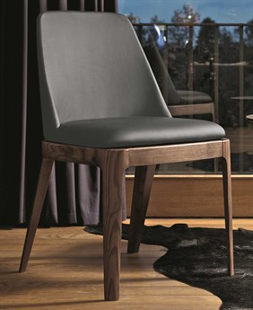 Bontempi Margot Anthracite Side Dining Chair BON4065L006TR517