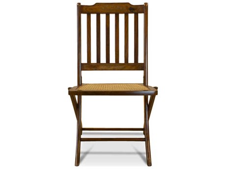 Boston Mills Lynx Rosewood with Brass Inlay Folding Dining Side Chair (Set of 2)