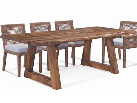 Braxton Culler Bellport Honey 82'' Wide Rectangular Dining Table