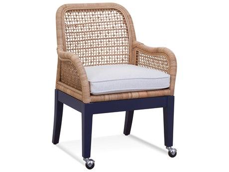 Braxton Culler Boone Arm Rolling Dining Chair BXC1017029CR