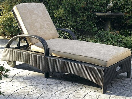 Braxton Culler Brighton Pointe Charcoal Adjustable Rolling Chaise Lounge Chair BXC435092