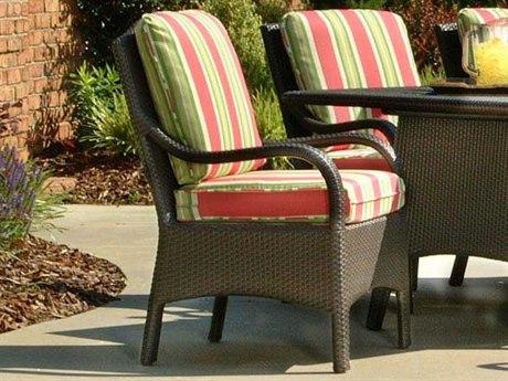 Braxton Culler Brighton Pointe Charcoal Arm Dining Chair