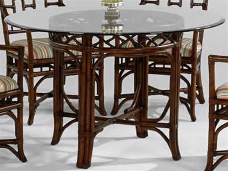 Braxton Culler Chippendale 60'' Wide Round Dining Table BXC970075B