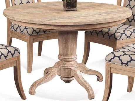 Braxton Culler Cimarron Sandalwood 48-66'' Wide Round Dining Table