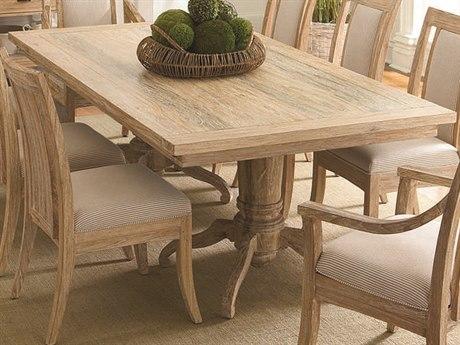 Braxton Culler Cimarron Sandalwood 82-118'' Wide Rectangular Dining Table