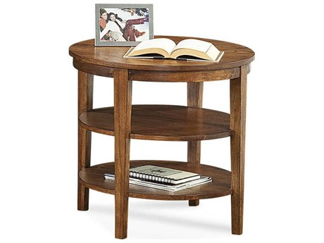 Braxton Culler Concord 25'' Wide Oval End Table