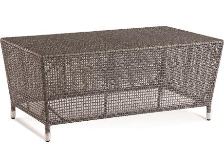 Braxton Culler Edisto Pewter 39'' Wide Rectangular Coffee Table BXC416072