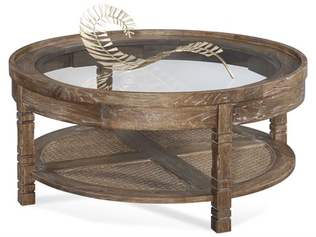 Braxton Culler Farmhouse Aged Chestnut 42'' Wide Round Coffee Table