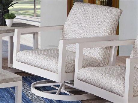 Braxton Culler Larissa Greystone Swivel Accent Chair