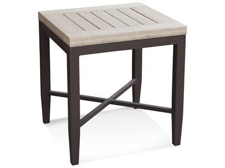 Braxton Culler Luciano Antique Birch / Granite 20'' Wide Square End Table BXC414071