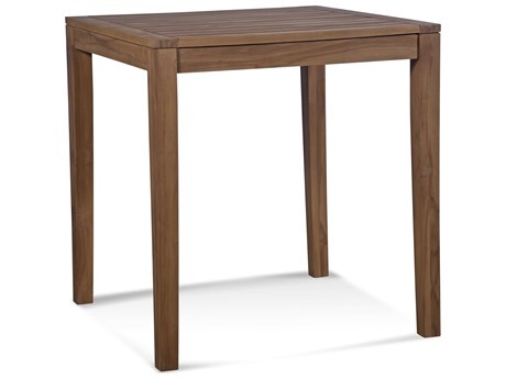Braxton Culler Messina Teak 34'' Wide Square Bar Height Dining Table BXC489052