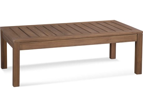 Braxton Culler Messina Teak 46'' Wide Rectangular Coffee Table BXC489072