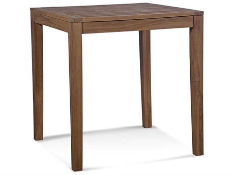 Braxton Culler Messina Teak 34'' Wide Square Counter Height Dining Table BXC489175
