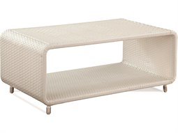 Montauk Frost White 42'' Wide Rectangular Coffee Table