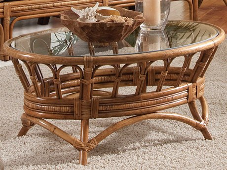 Braxton Culler Moss Landing 41'' Wide Oval Coffee Table