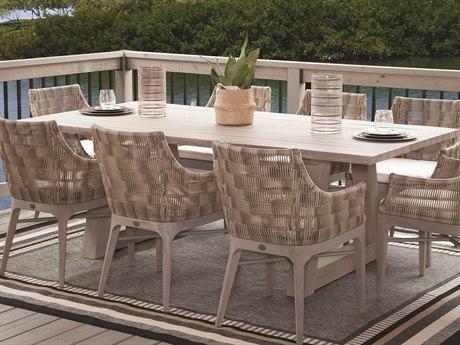 Braxton Culler Sag Harbor Driftwood 82'' Wide Rectangular Dining Table