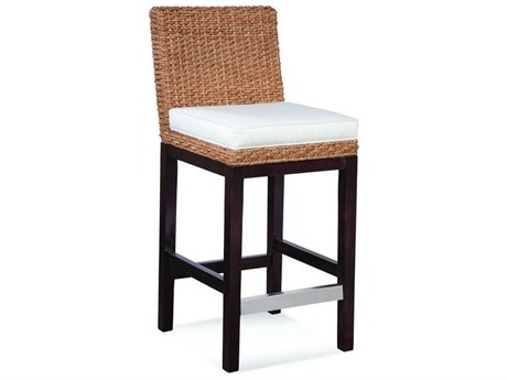 Braxton Culler Seagrass Top Side Counter Height Stool