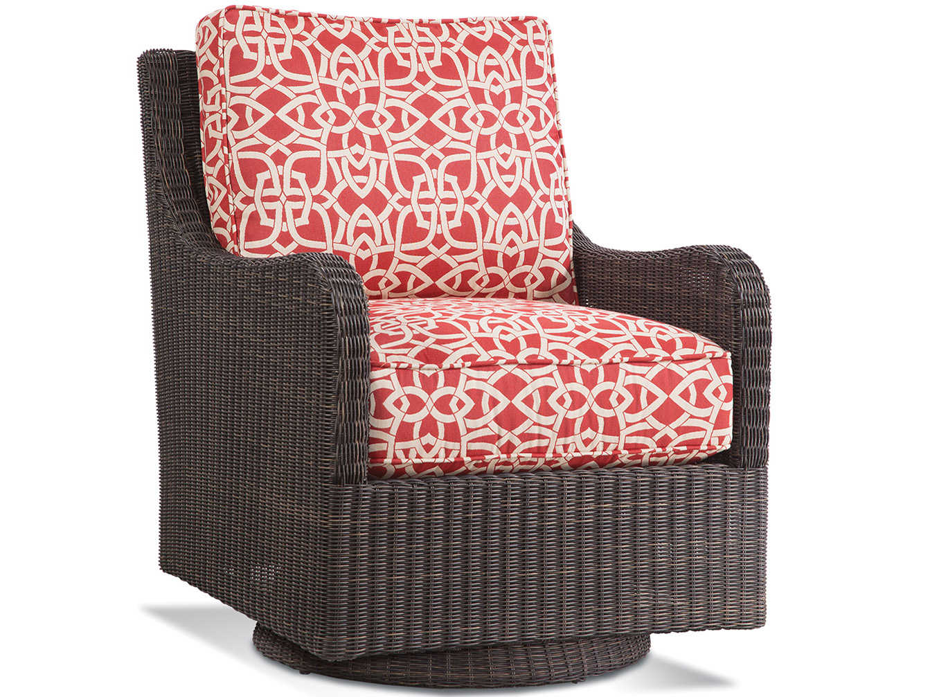 Braxton Culler Tangier Sable Swivel Accent Chair Bxc404005