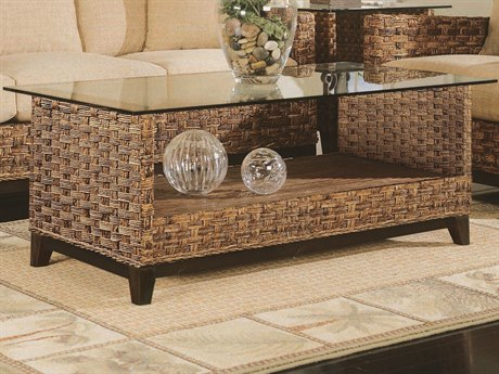 Braxton Culler Tribeca Blends With Java 52'' Wide Rectangular Coffee Table