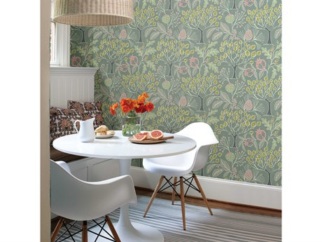 Brewster Home Fashions A Street Prints Descano Exotic Plum Botanical Wallpaper Sold In 2 Bhf2656004001