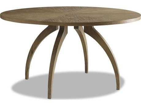 Brownstone Furniture Atherton Cerused Teak Round Dining Table