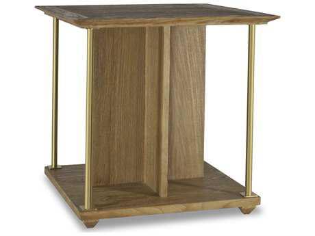 Brownstone Furniture Atherton 24'' Square Cerused Teak End Table BRNAT500