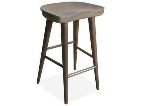 Brownstone Furniture Balboa Driftwood Gray Counter Stool BRNBBD801