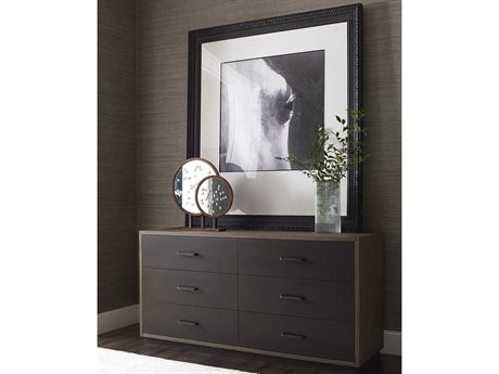 Brownstone Furniture Baldwin Lattte 6 Drawers Double Dresser BRNBD101