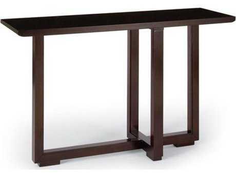 Brownstone Furniture Bancroft 55''L x 18''W Rectangular Dark Cherry Console Table BRNBCR501