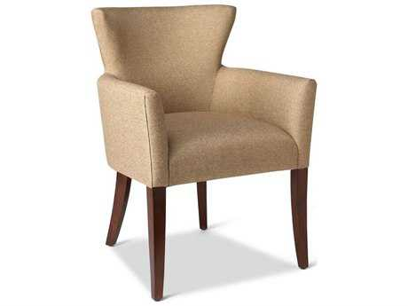 Brownstone Furniture Casablanca Rich Sand Linen Dining Arm Chair