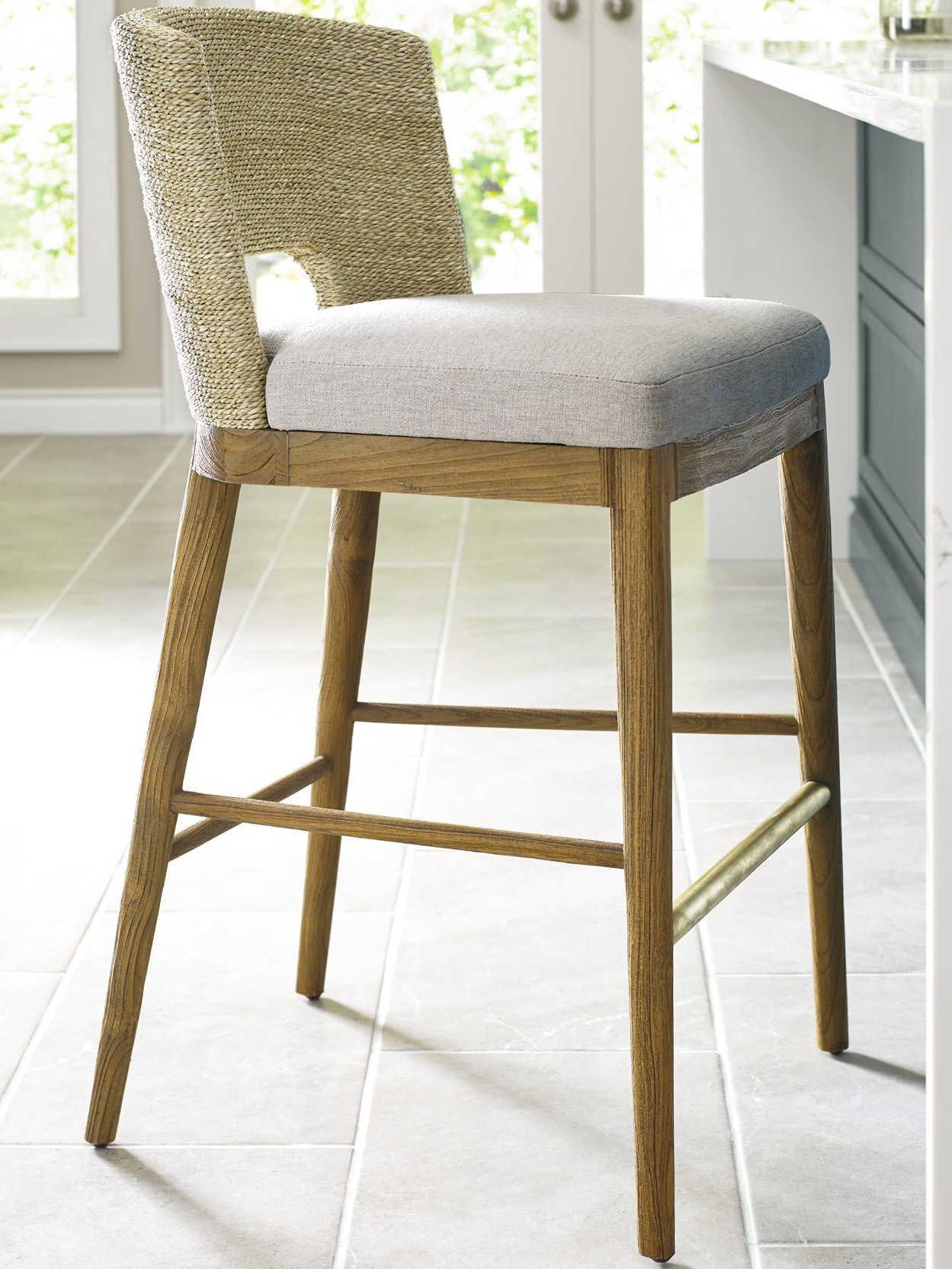 Brownstone Furniture Beach Praline Side Counter Height Stool Brnam801