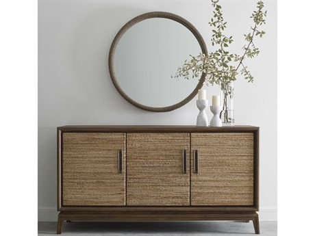 Brownstone Furniture Gemma Buffet with Wall Mirror