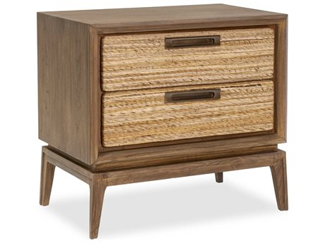 Brownstone Furniture Gemma Mesa / Abaca 2 Drawers Nightstand BRNGM105