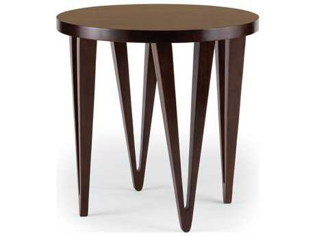 Brownstone Furniture Georgetown 26'' Round Chestnut Brown End Table BRNGT500
