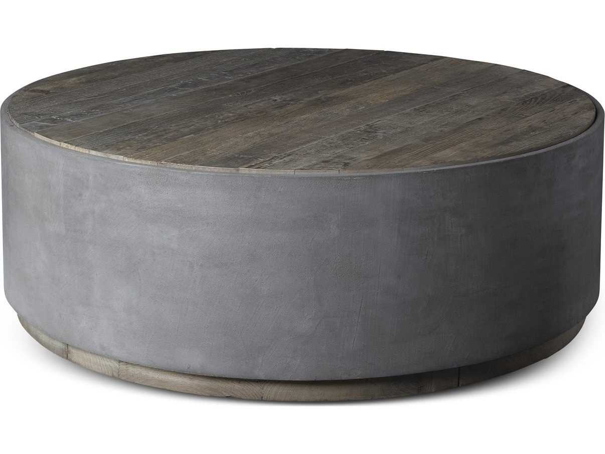 - Brownstone Furniture Griffin Natural Elm With Pewter Gray 48'' Wide