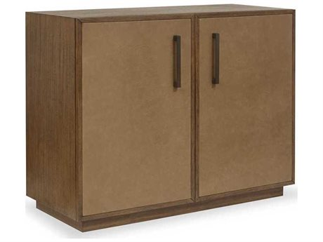 Brownstone Furniture Hamilton Pecan / Caramel Accent Chest