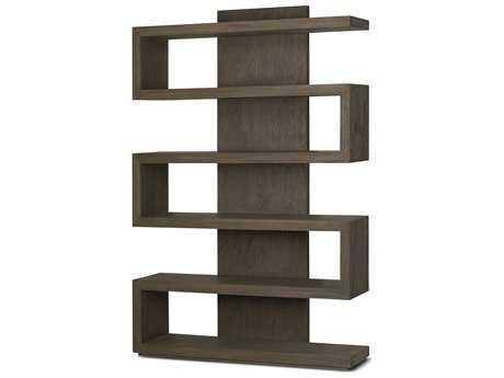 Brownstone Furniture Harrison 47''L x 14''W Driftwood Bookcase BRNHSD401
