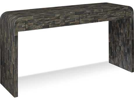 Brownstone Furniture Hayden 56''L x 18''W Rectangular Clear Polished Topcoat Console Table BRNHA501