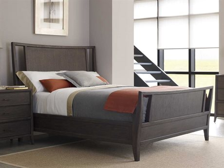 Brownstone Furniture Hudson Tobacco Queen Size Panel Bed