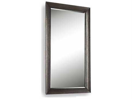Brownstone Furniture Logan 30''W x 50''H Rectangular Burnt Driftwood Wall Mirror BRNLG019