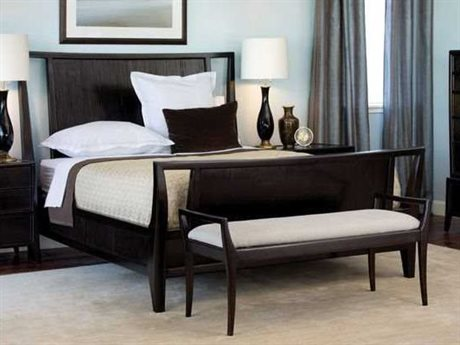 Brownstone Furniture Marin Cappuccino Queen Size Panel Bed BRNMAR005