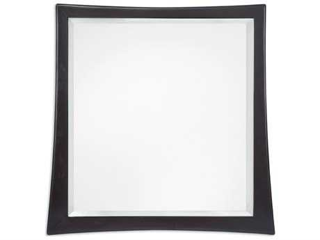 Brownstone Furniture Marin 38'' Square Cappuccino Wall Mirror BRNMAR019