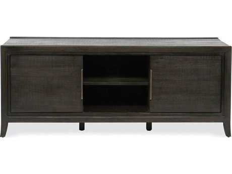 Brownstone Furniture Messina 60''L x 22''W Rectangular Smokey Brown Plasma Console TV Unit BRNME216