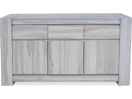 Brownstone Furniture Messina 66''L x 21''W Rectangular Graywash Sideboard BRNME305G