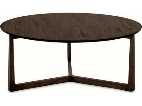 Brownstone Furniture Messina 40'' Round Smokey Brown Coffee Table BRNME502