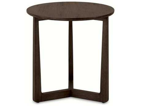 Brownstone Furniture Messina 20'' Round Smokey Brown End Table BRNME500